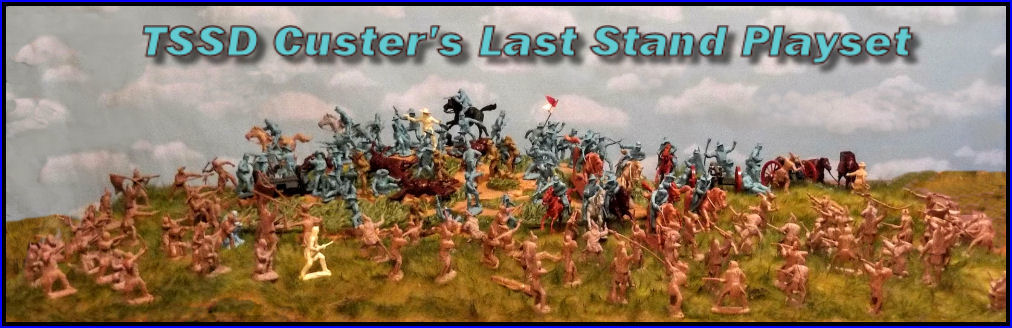 TSSD Custer's Last Stand playset